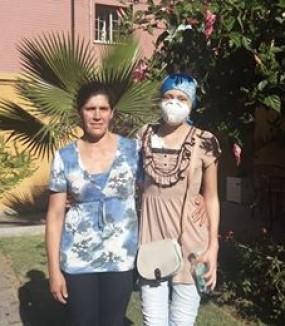 Francisca y María